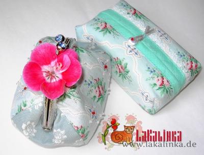 кошелек с фермуаром и саше для платочков