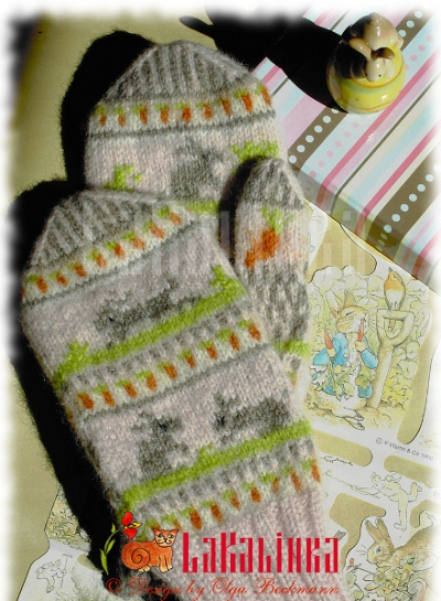 The tal of little Rabbit mittens