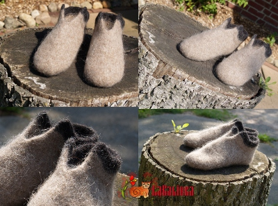 knitting pattern felted slippers Yarn Lopi Istex