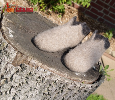 knitting pattern felted mens Slippers