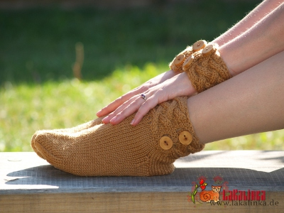 Knitting pattern socks Olga Beckmann