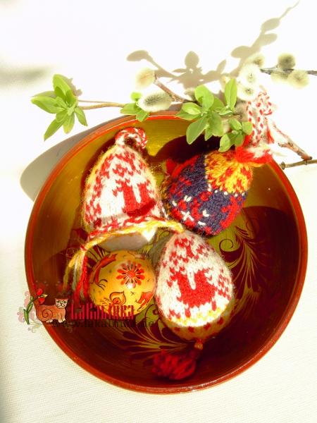 russian easter eggs knitting pattern