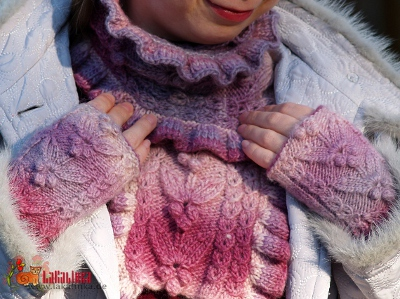 fingerless mitts knitting pattern