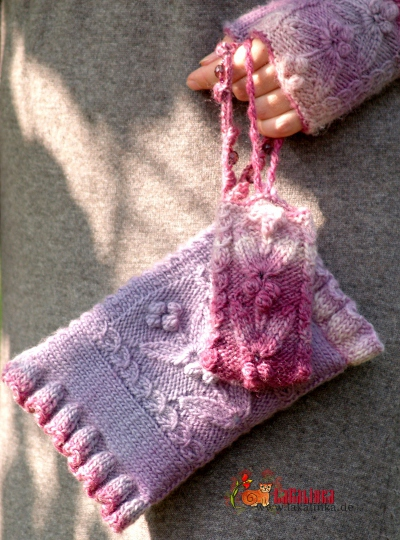 knitting pattern clutch and case