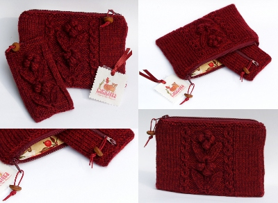 knitting pattern clutch