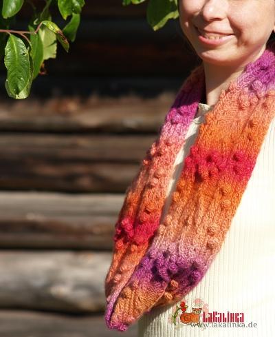 Knitting pattern cowl Olga Beckmann