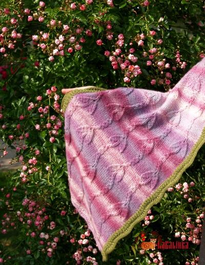 Knitting pattern Wrap Design Olga Beckmann