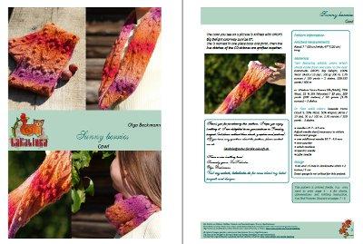 Sunny berries cowl patt blog