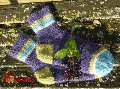 носки из исландской лопи