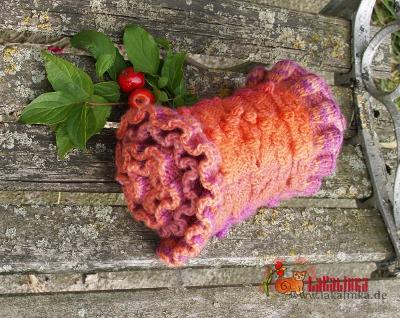 knitting pattern scarf design Olga Beckmann