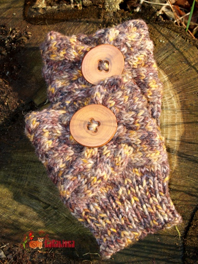 Boot cuffs knitting pattern
