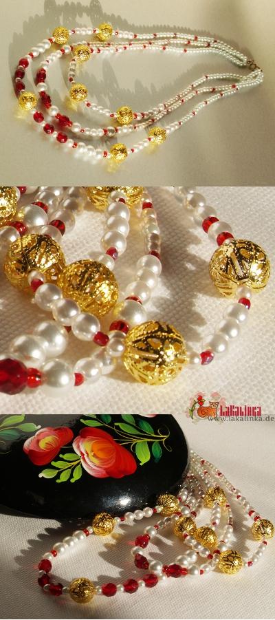 ожерелье монисто к сарафану