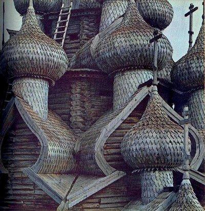 Кижи, остров, Церковь Спаса Преображения