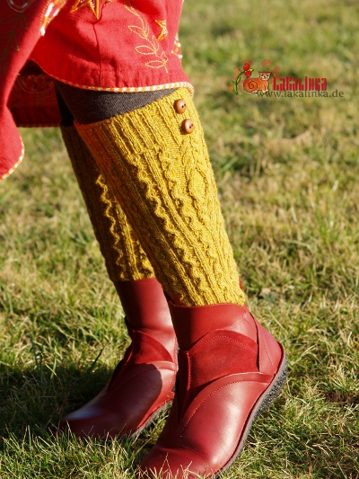 Legwarmers knitting pattern