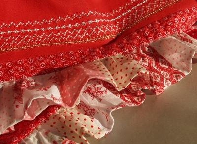 нижняя юбка к сарафану
