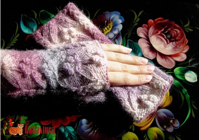 fingerless mitts pattern