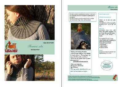 Severni vitr knitting pattern
