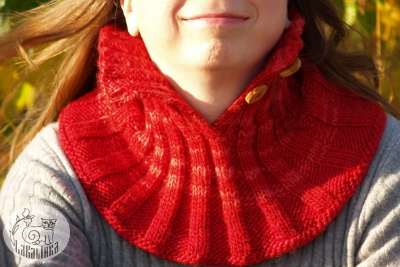Neckwarmer November frost