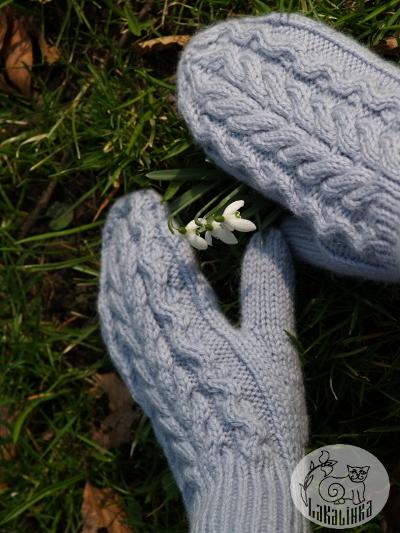 Zimushka mittens pattern