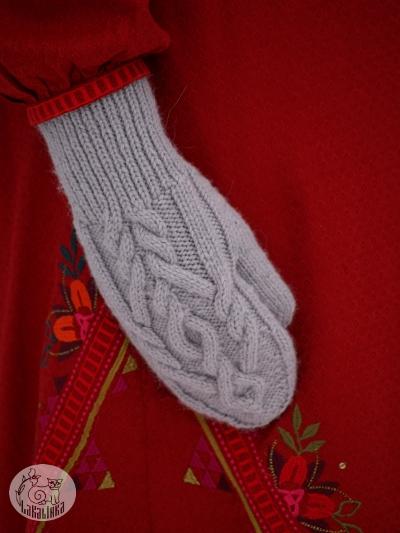 Morosko mittens pattern