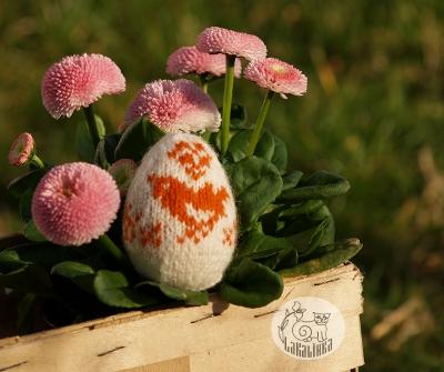 Easter eggs knitting pattern