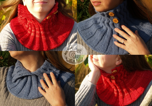 Button-up neck warmer