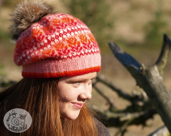 stranded colorwork hat pattern