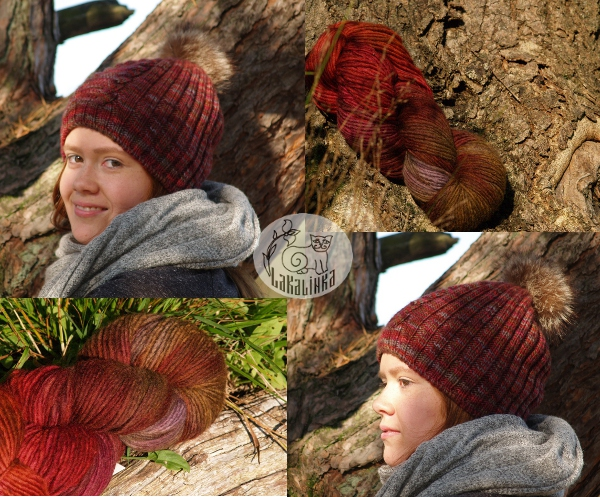 Ear flap hat pattern Malabrigo stonechat