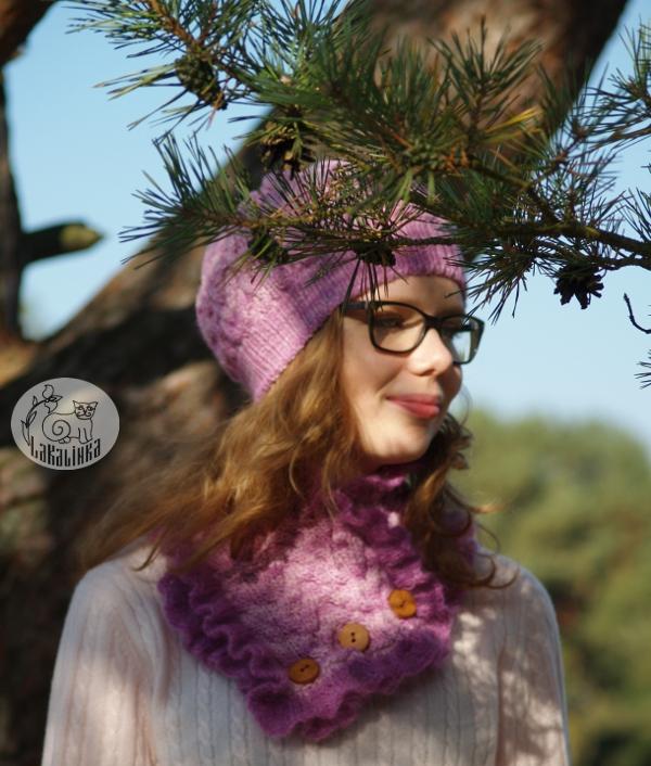 malabrigo hat neck warmer pattern