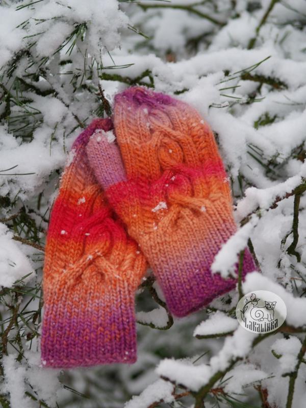 Iduna mittens pattern