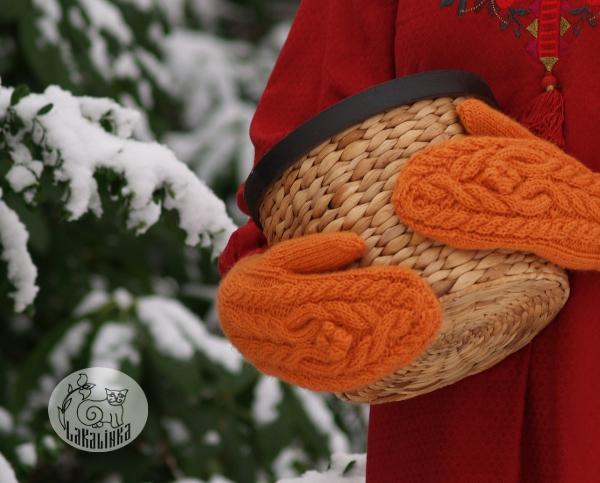 Apelsinka mittens pattern