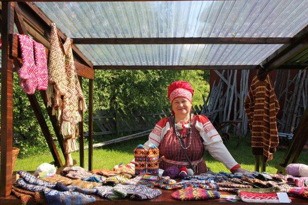 узорное вязание Архангельск