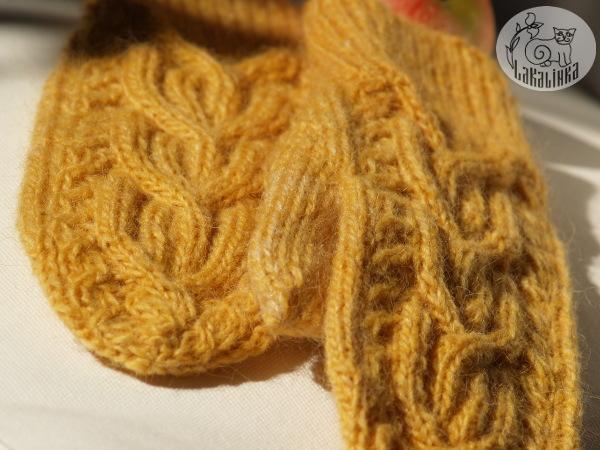 LettLopi mittens pattern Iduna